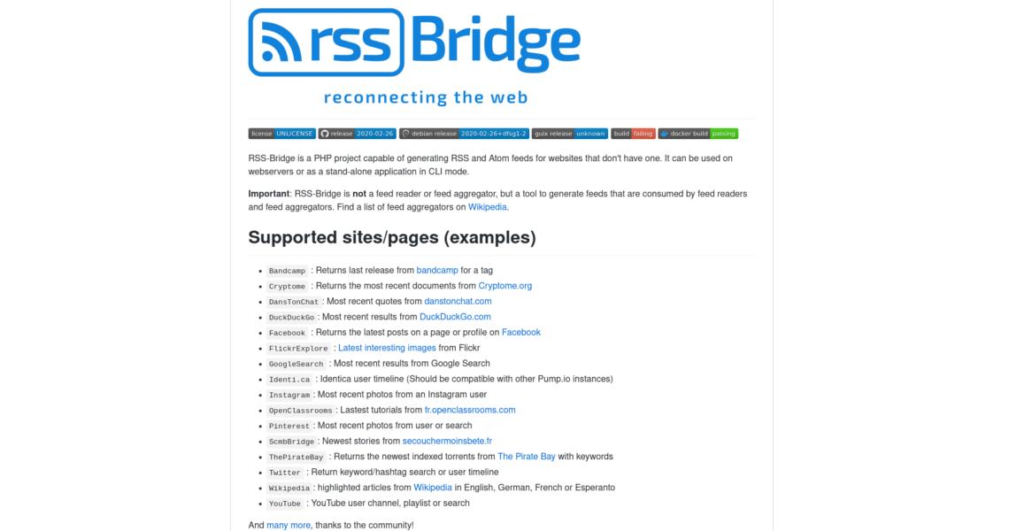 RSS-Bridge