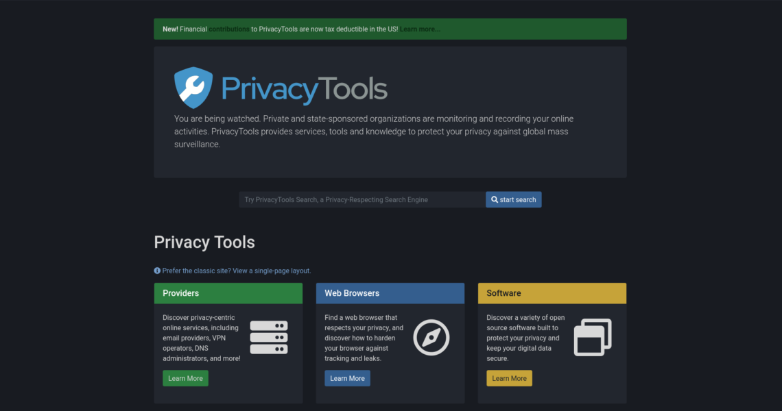 PrivacyTools