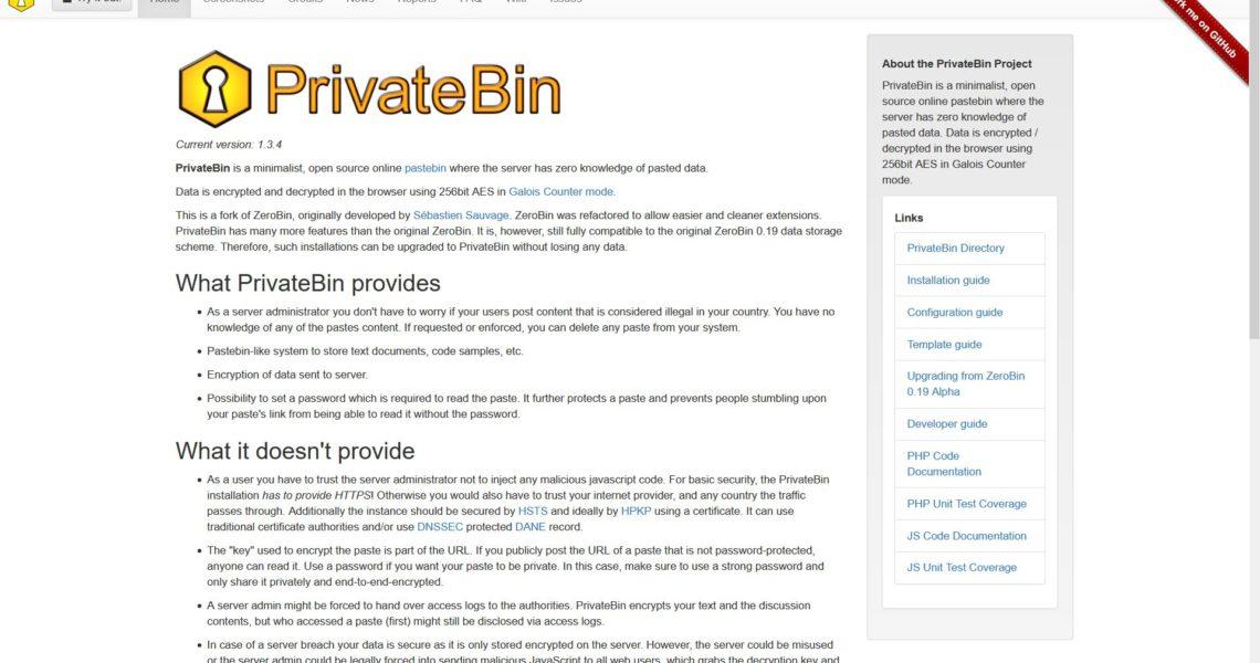 PrivateBin