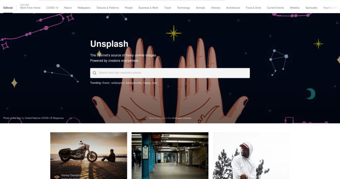Unsplash – Photos for everyone