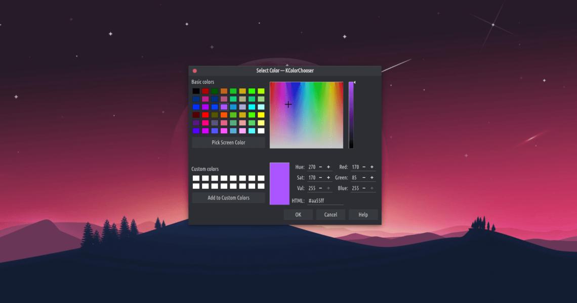 Kcolor Chooser