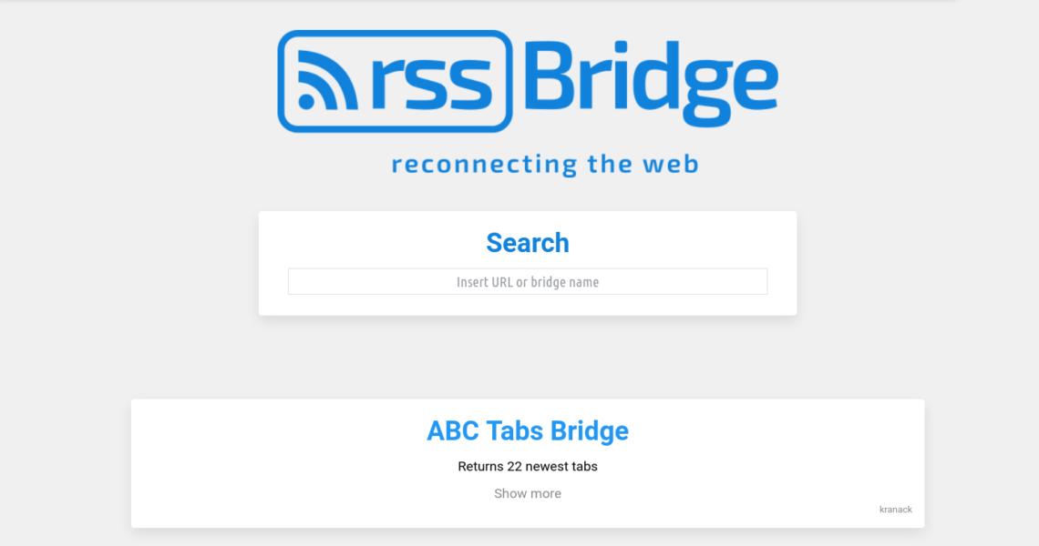 tromland.org/rss-bridge
