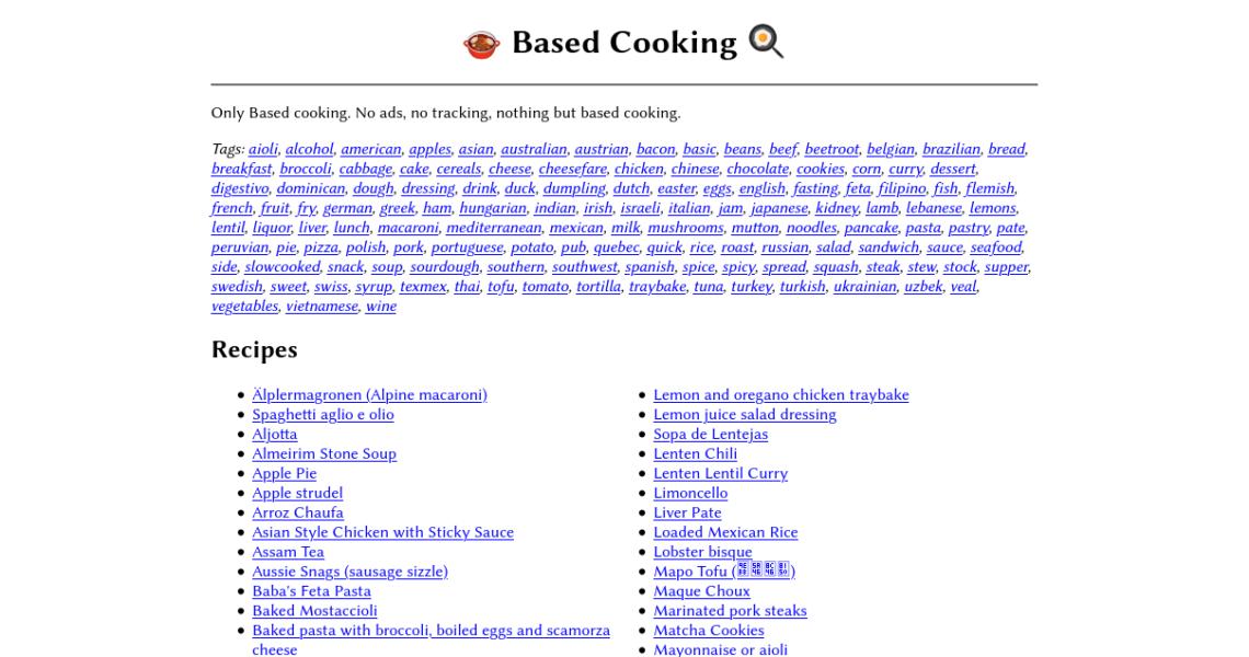 Basierend Kochen