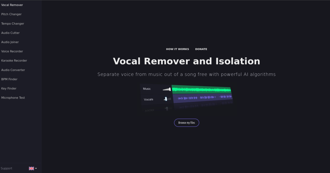 Vocal Remover and Isolation